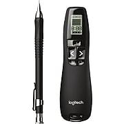 Logitech R800 Professional Laser Pointer, 100' Range, Green (910-001350)