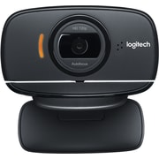 Logitech C525 Computer Webcam with Microphone, HD 720p, Black (960-000715)