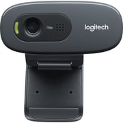 Logitech C270 Computer Webcam with Microphone, HD 720p (960-000694)