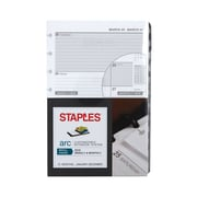 "Staples® Arc System 2019 Weekly Planner Refill Paper, 5-1/2"" x 8-1/2"" (28103-19)"