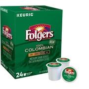 Folgers® Colombian Decaf Keurig® K-Cup® Pods, Medium Roast, Decaffeinated, 24/Box (5000053359)