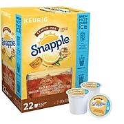 Snapple Lemon Iced Tea, Keurig K-Cup Pods, 22/Box (6870)