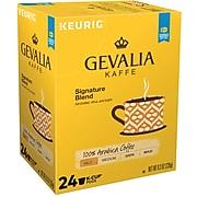 Gevalia Signature Blend Coffee, Keurig® K-Cup® Pods, Light Roast, 24/Box (5305)