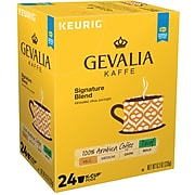Gevalia Signature Blend Decaf Coffee, Keurig® K-Cup® Pods, Light Roast, 24/Box (5471)