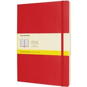 Moleskine XL Squared Soft Cover, Scarlet Red (854689)
