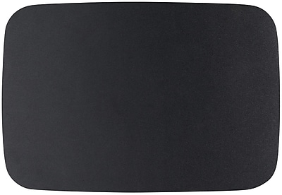 Staples Large Microfiber Mouse Pad, Black