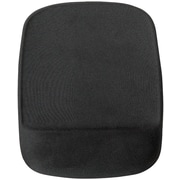 Staples Mouse Pad with Gel Wrist Rest, Black (53326)