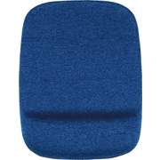 Staples Mouse Pad with Gel Wrist Rest, Blue