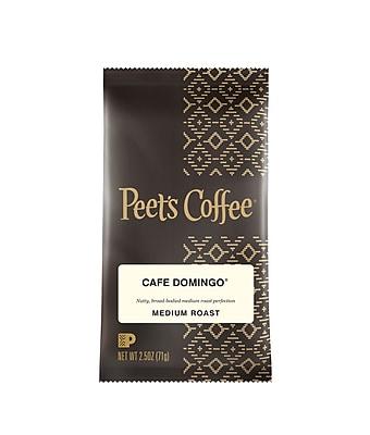 Coffee Portion Packs, Cafe Domingo Blend, 2.5 oz. Frac Pack, 18/Box (PCECDOP25)