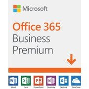 Microsoft Office 365 Business Premium 1 Year Subscription for 1 User, Windows/Mac, Download (KLQ-00218)