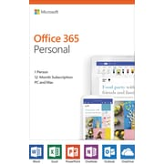 Microsoft Office 365 Personal, Product Key-Card (QQ2-00728)