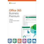 Microsoft Office 365 Business Premium, English, Key-Card (KLQ-00378)