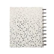 Martha Stewart Cream Vine Poly Letter Discbound Notebook, Letter Sized (MS102L)