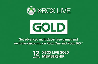 Xbox 12 Month Subscription Gift Card, $59.99 (Email Delivery)