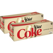 Coca-Cola Diet Coke Original Caffeine Free Soda, 12 Oz., 24/Carton (00049000029345)