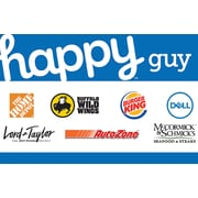Happy Guy Gift Card, $100