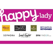 Happy Lady Gift Card, $50