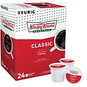 Krispy Kreme Classic Coffee, Keurig K-Cup Pods, Medium Roast, 24/Box (06110)