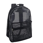 Staples Mesh Backpack, Black (29693)