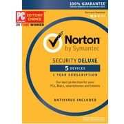 Norton Security Deluxe 5 Devices 1 User Product Key