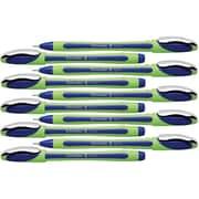 Schneider Xpress Fineliner Pens, 0.8mm, Blue Ink, 10/Box
