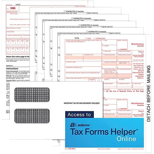 adams tax forms helper download