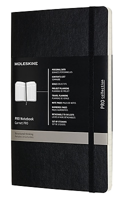 Moleskine Professional Notebook 8.25 x 5 Hard Cover Green (891348)