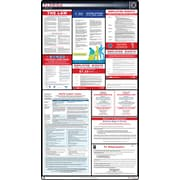 ComplianceSigns® 2019 Florida Labor Law Poster (with Blue Header)