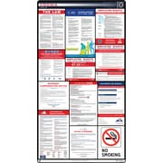 ComplianceSigns® 2019 Virginia Labor Law Poster (with Blue Header)