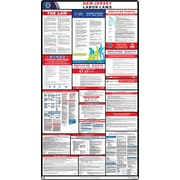 ComplianceSigns® 2019 New Jersey Labor Law Poster (with White Header)