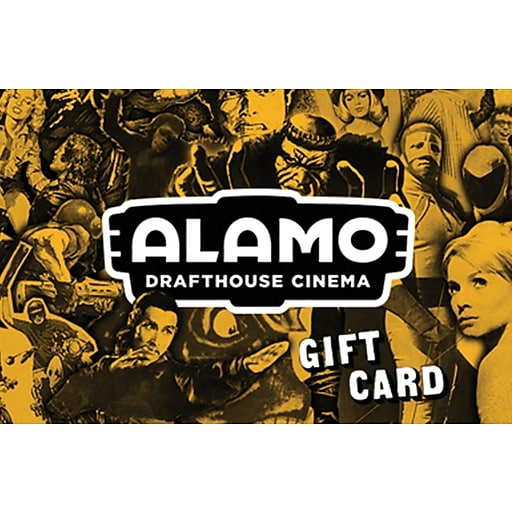 Alamo Drafthouse $100 Gift Card Email Delivery (72784B10000)
