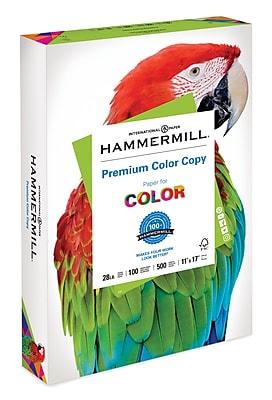 Hammermill® Premium Color Copy Text Paper, 28lb, 11