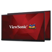 "Viewsonic VG2453_H2 24"" Dual IPS Monitors, Black"