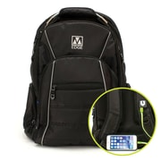 M-Edge Cargo Backpack w/Battery, Black (BPK-CA6-PO-B)