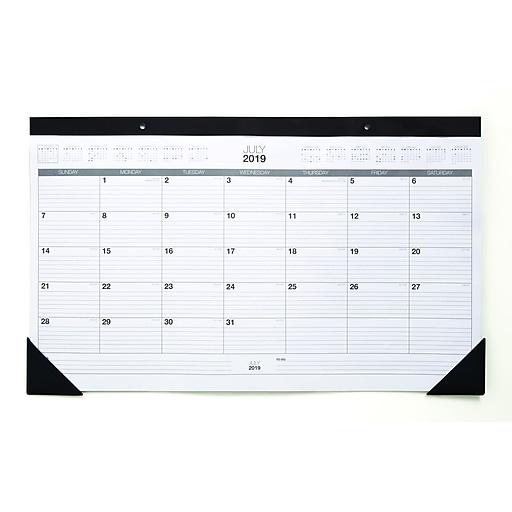Staples Desk Calendar 2020 2019 2020 Staples 11