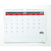 """2019-2020 15""""H x 12""""W Staples Academic Monthly Wall Calendar, 12 Months (54278-19)"""