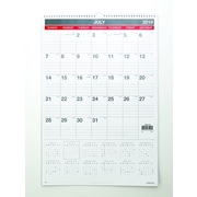 """2019-2020 22""""H x 15""""W Staples Academic Monthly Wall Calendar, 12 Months (54275-19)"""