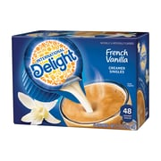 International Delight French Vanilla Liquid Creamer, 0.44 Oz., 48/Box (WWI02282)