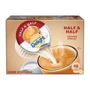 International Delight Half and Half Liquid Creamer, 0.3 Oz., 48/Box (WWI02284)