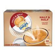 International Delight Half and Half Liquid Creamer, 0.3 Oz., 48/Box (WWI02284)