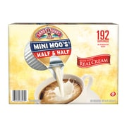 Land O'Lakes Mini-Moo's Half and Half Liquid Creamer, 0.28 Fl. Oz., 192/Carton (100718)