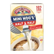 Land O'Lakes Mini-Moo's Half and Half Liquid Creamer, 0.28 Fl. Oz., 192/Carton (100718)
