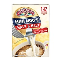 Deals on 192CT Land OLakes Mini-Moos Half and Half Liquid Creamer 0.28oz