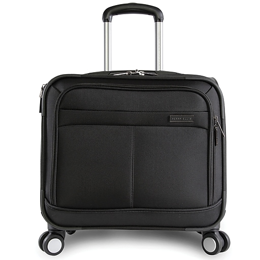 7adabe5be11f Perry Ellis Excess 8-Wheel Business Rolling Laptop Case