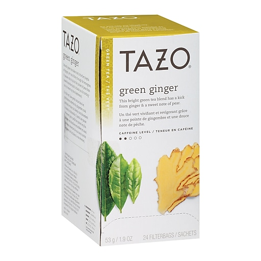 Tazo Green Ginger Tea, 24/Box (SBK151600)