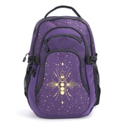 "Luna & Luster 18"" Backpack, Purple Dragonfly (54949)"