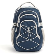 "Pembroke 18"" Backpack, Navy & Grey (54943)"