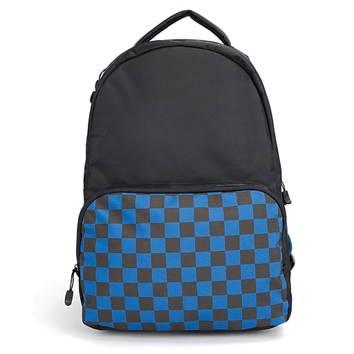 "Schooled 18"" Backpack, Checkers (54951)"