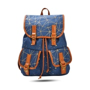 Luna & Luster Canvas Backpack, Navy Constellations (54932)