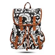 Windsor Backpack, Black and White Floral (52426)